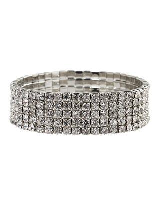Damen Armband aus Strasssteinen