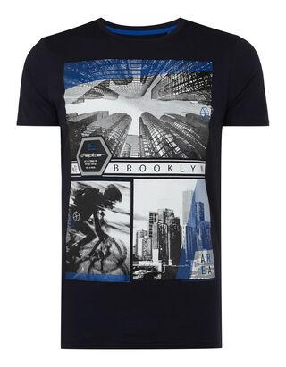 Herren T-Shirt mit City-Print