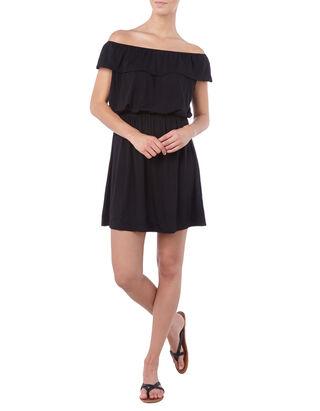 Damen Kleid mit Besatz