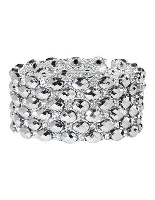 Damen Armband aus Zier- und Strasssteinen