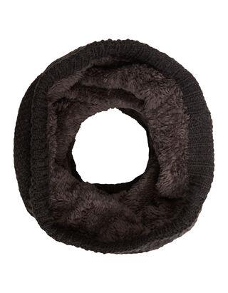 Herren Loop-Schal mit Teddyfutter