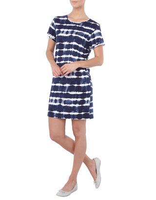 Damen Longshirt im Batik-Look
