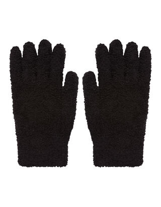Damen Handschuhe mit Webstruktur