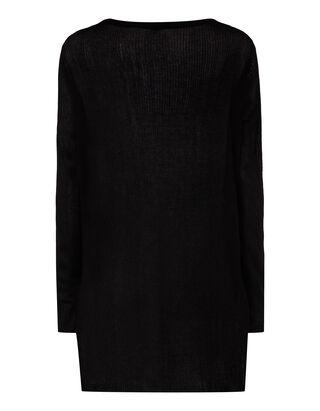 Damen Pullover mit langen Seitenschlitzen