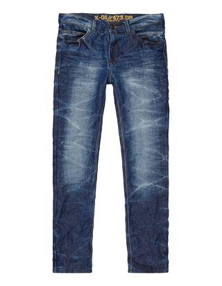 Jungen Stone Washed Slim Fit Jeans