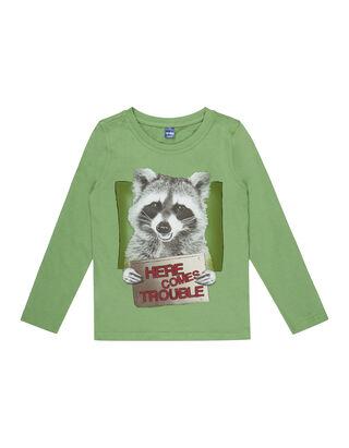 Jungen Shirt mit Bären-Print