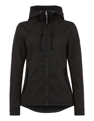 Damen Softshell-Jacke mit Fleecefutter