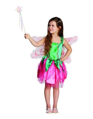 Mädchen Kostüm Fee mit Flügeln