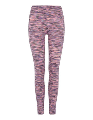 Damen Leggings in Melangeoptik