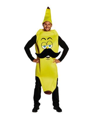 Herren Bananen Kostüm