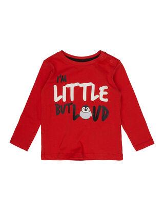 Baby Shirt mit Message-Print