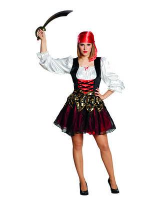 Damen Piratenbraut Kostüm