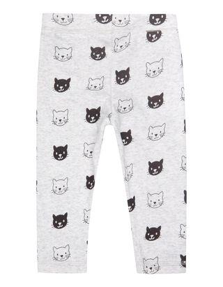 Baby Sweatpants mit Katzenmuster