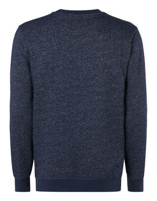 Herren Sweatshirt mit eingestepptem Logo