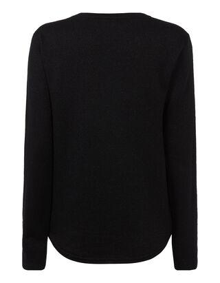 Damen Sweatshirt mit Effekt-Garn