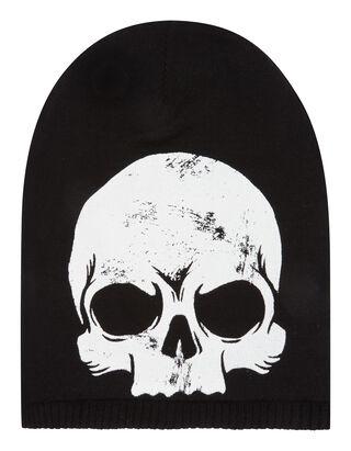 Jungen Beanie mit Totenkopf-Print