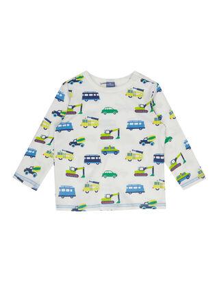 Newborn Shirt mit Allover-Print
