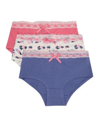 Mädchen Panties im 3er-Pack