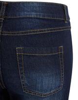 Damen Stone Washed 5-Pocket-Jeansshorts