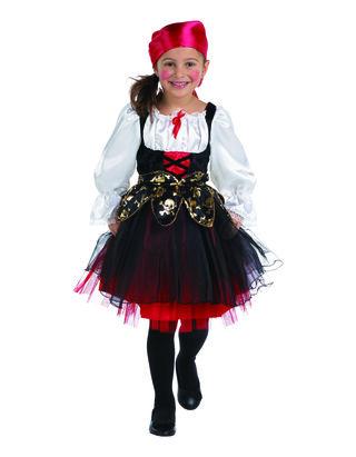 Mädchen Piratin Kostüm