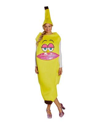 Damen Bananenlady Kostüm