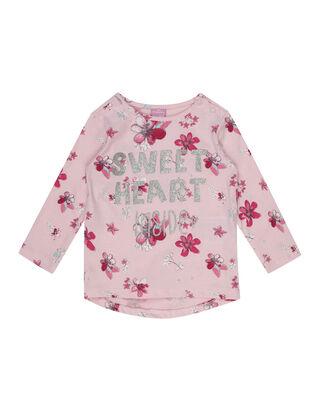 Newborn Shirt mit Glitter-Effekt