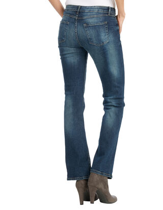 Damen Bootcut 5-Pocket-Jeans