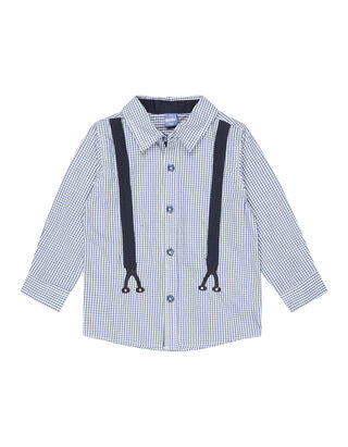 Baby Hemd mit Karomuster