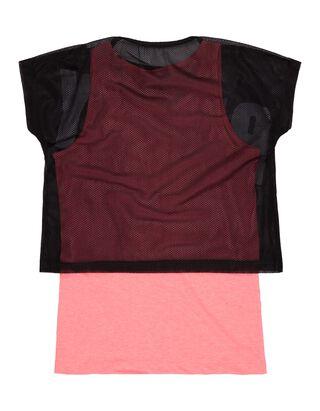 Mädchen 2-in-1-Shirt mit Print