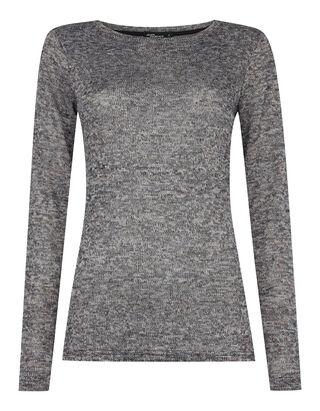 Damen Pullover in Melangeoptik