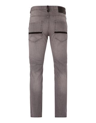 Herren Slim Fit Jeans mit Reißverschlusstasche