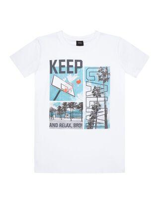 Jungen T-Shirt mit Print