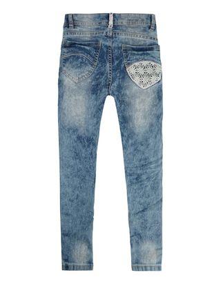 Mädchen Bleached Slim Fit Jeans