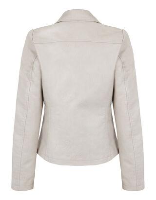 Damen Jacke in Lederoptik