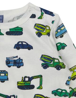 Baby Shirt mit Allover-Print