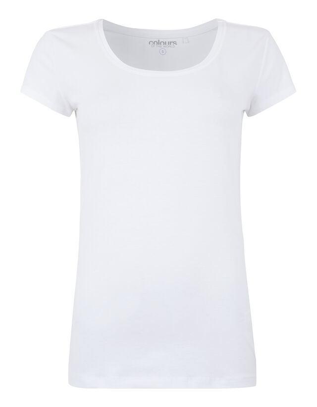 Damen T-Shirt mit Stretch-Anteil