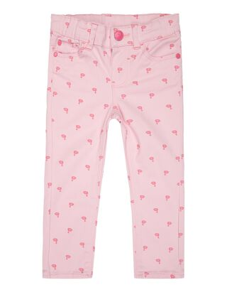 Baby 5-Pocket- Hose mit Schwanen-Print