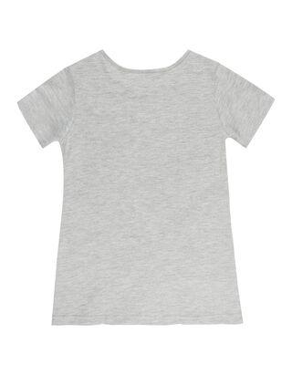 Mädchen T-Shirt mit Print und Glitter-Effekt
