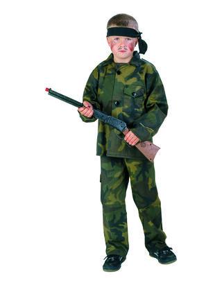 Jungen Rambo Kostüm