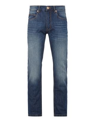 Herren Straight Fit 5-Pocket-Jeans
