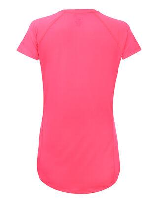 Damen T-Shirt mit feinem Lochmuster