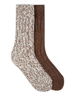 Damen Socken mit Woll-Anteil