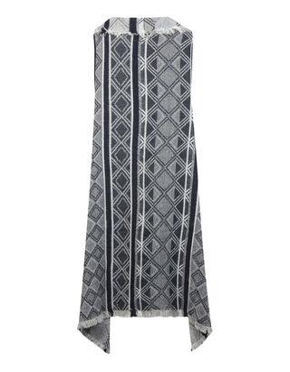 Damen Strickweste mit Ethno-Muster