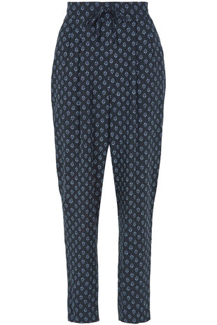 Ann Harvey Printed Tapered Trousers