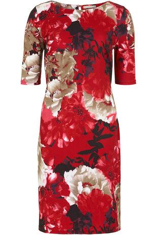 Ann Harvey Printed Shift Dress
