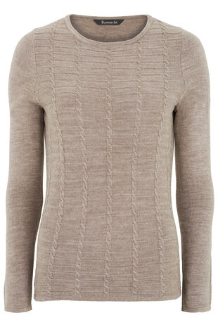 Supersoft Textured Knit Jumper