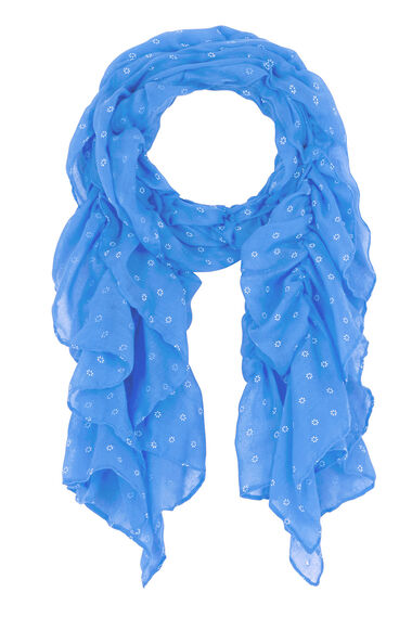 Elasticated Mini Floral Scarf