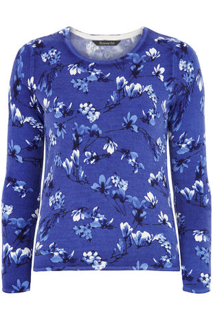 Supersoft Floral Printed Jumper