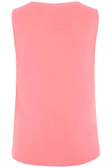 Pure Cotton Square Neck Vest