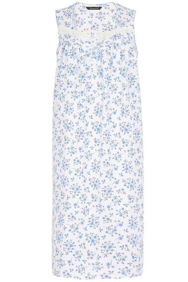 Blue Sprig Floral Nightdress